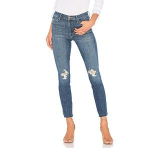 MOTHER The Vamp Fray Distressed Jeans